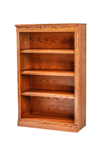 Forest Designs Mission Oak Bookcase: 30W x 48H x 13D