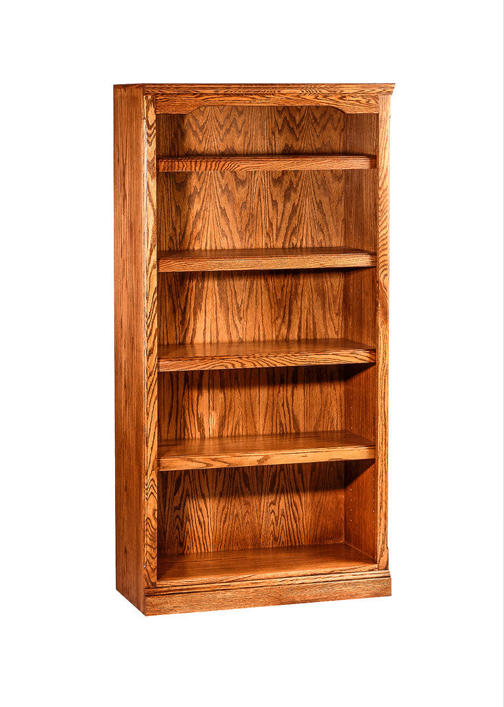 Forest Designs Traditional Bookcase: 30W X 60H X 13D
