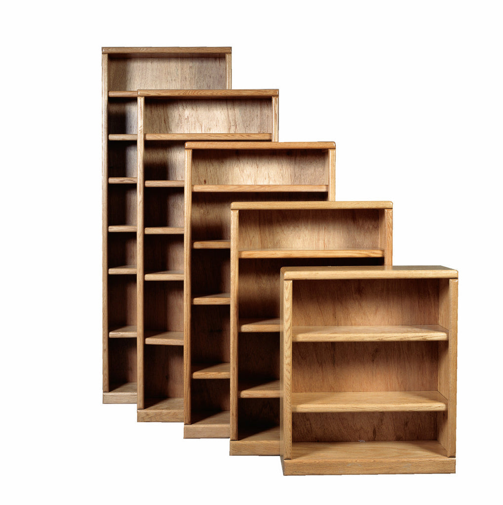 Forest Designs Bullnose Bookcase: 36W X 48H X 13D (One Bookcase)