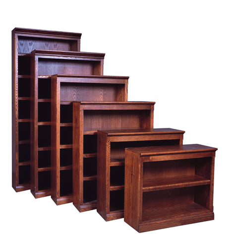 Forest Designs Mission Bookcase: 36W X 48H X 13D (One Bookcase)