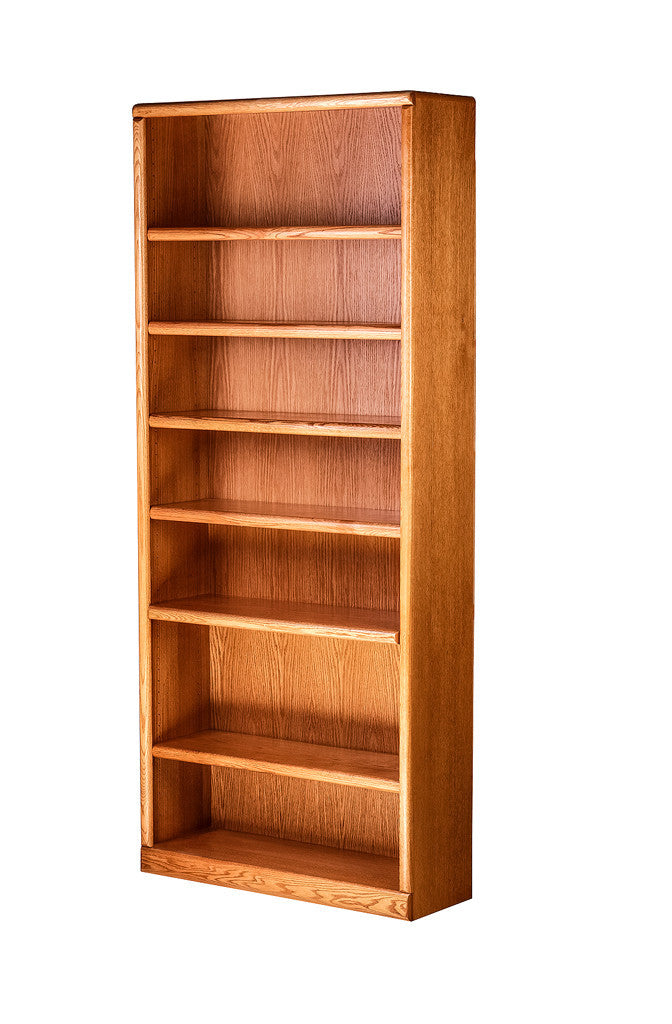 Forest Designs Bullnose Bookcase: 36W X 84H X 13D