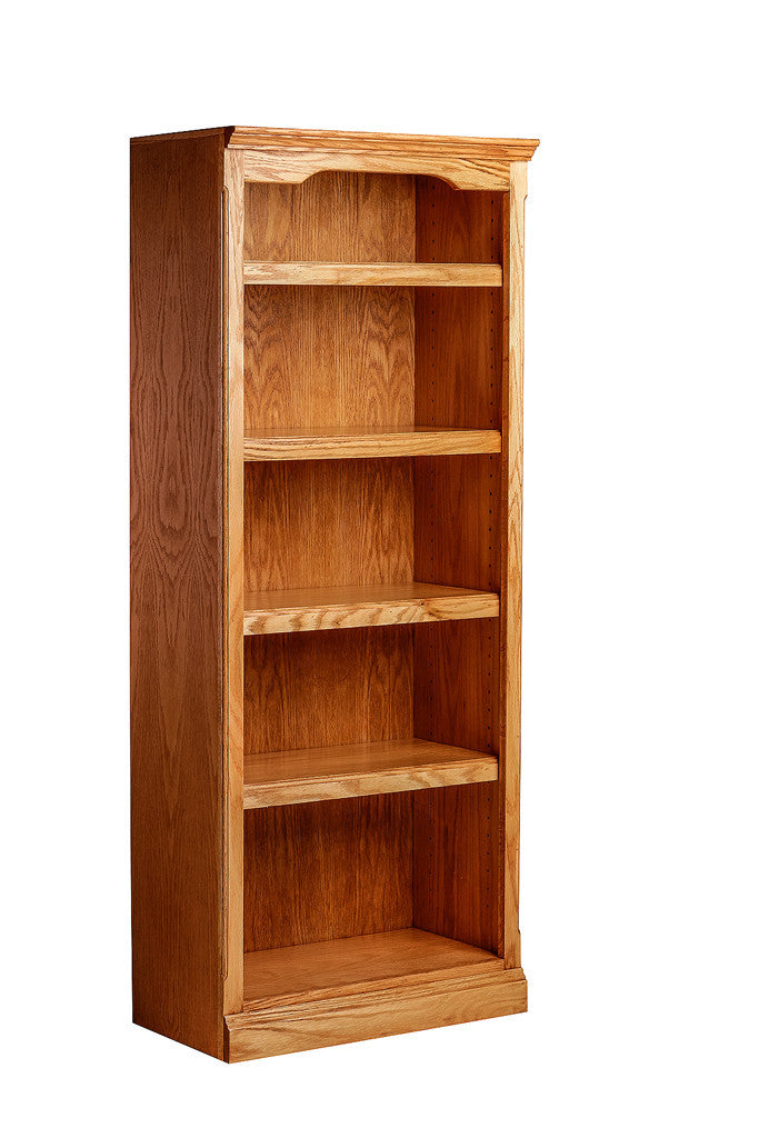 Forest Designs Traditional Oak Bookcase: 48W x 30H x 13D