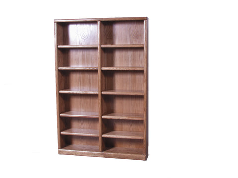 Forest Designs Bullnose Bookcase: 48W x 72H x 13D