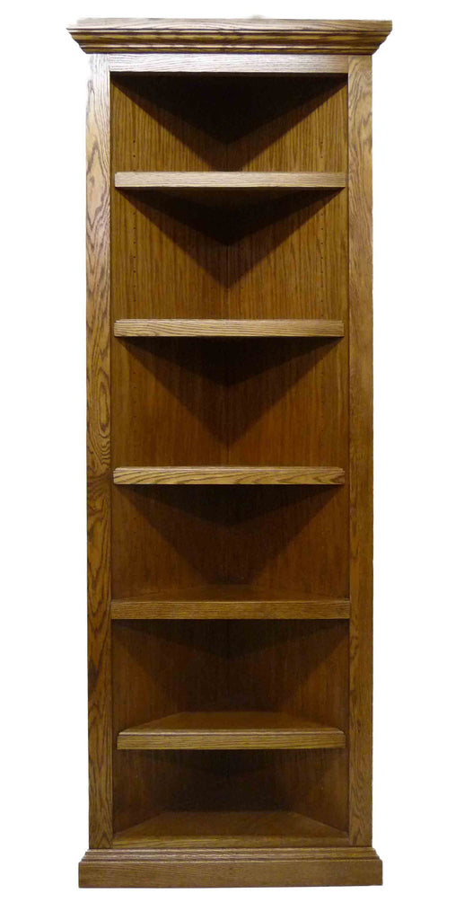 Forest Designs Traditional Corner Bookcase: 20 X 20 from Corner 72H
