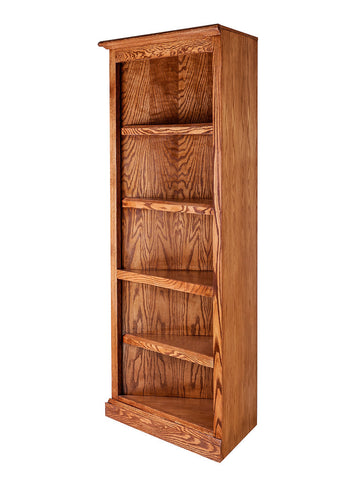 Forest Designs Mission Oak Corner Bookcase: 27 x 27 from Corner 60H