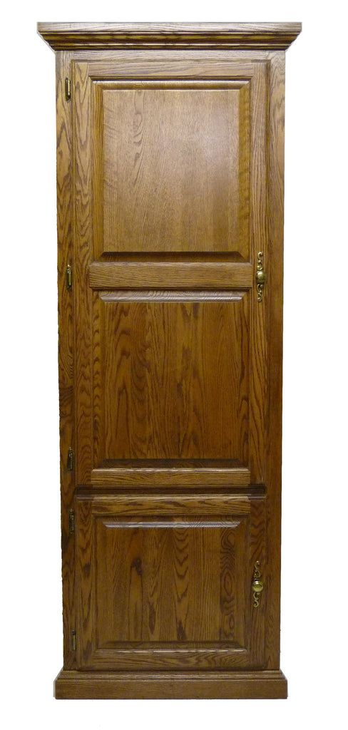 Forest Designs Traditional Corner Bookcase with Wood Doors: 72H (27 X 27 f/Corner)