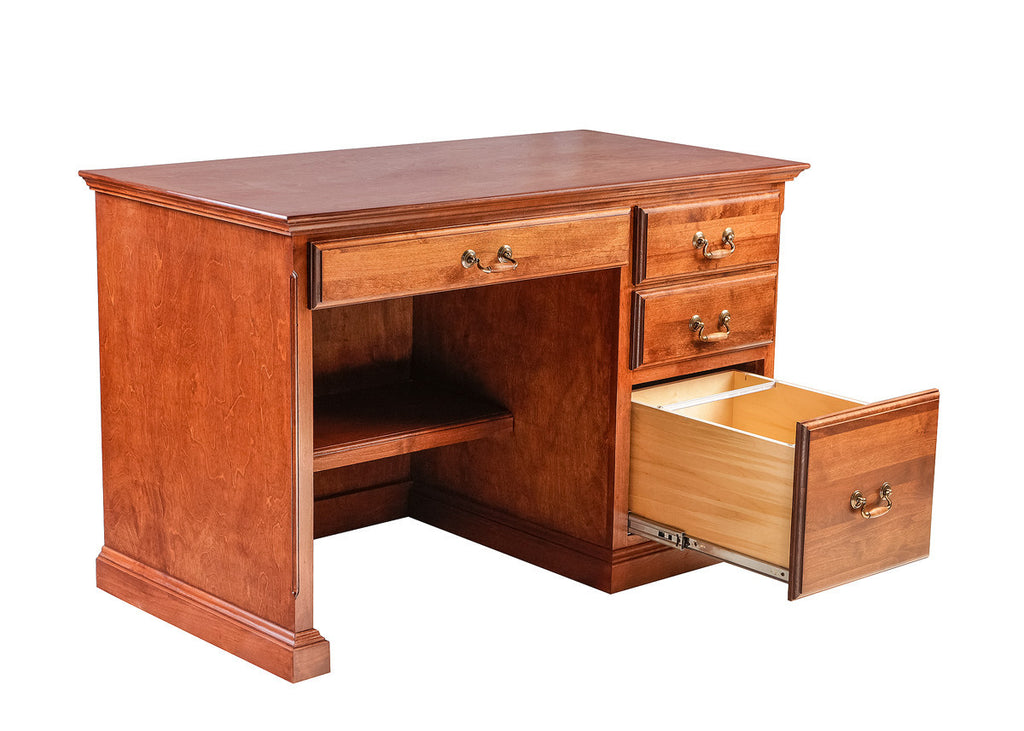 Forest Designs Traditional Alder Desk: 48W X 30H X24D with Pencil Drawer