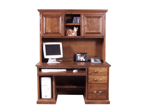 Forest Designs Traditional Hutch for 1062: 56w x 42H x 13D (No Desk)