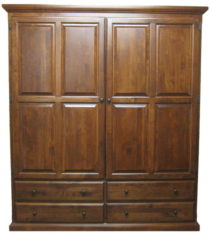 Forest Designs Traditional Wardrobe: 60W x 72H x 21D