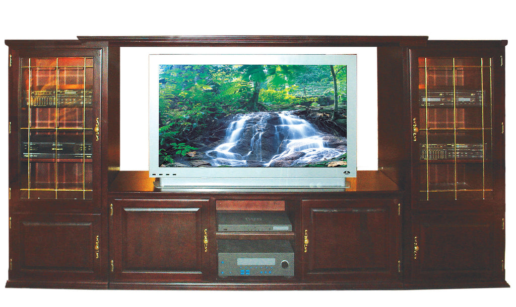 Forest Designs Traditional Three Piece Wall & TV Stand
