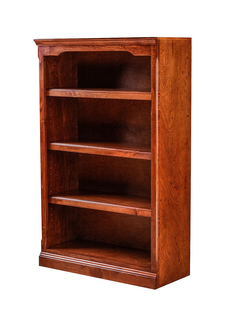 Forest Designs Traditional Alder Bookcase: 30W X 48H X 13D