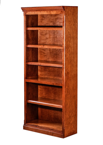 Forest Designs Mission Alder Bookcase: 30W X 72H X 13D