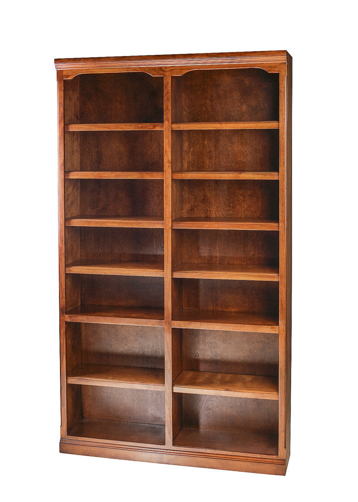 Forest Designs Traditional Alder Bookcase: 48W x 84H x 13D