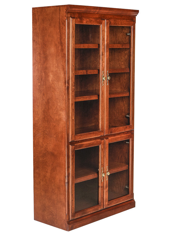Forest Designs Traditional Alder Bookcase: 36W x 72H x 18D