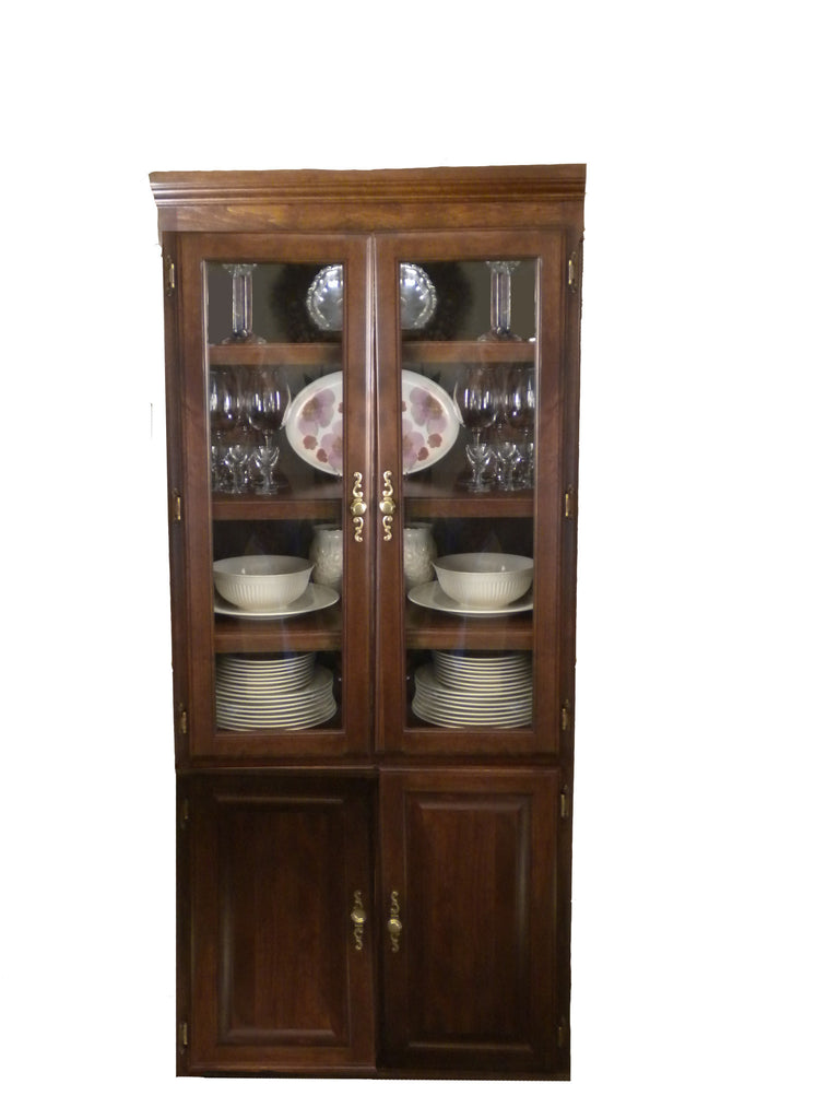 Forest Designs Traditional Bookcase Glass Doors: 36W x 72H x 18D