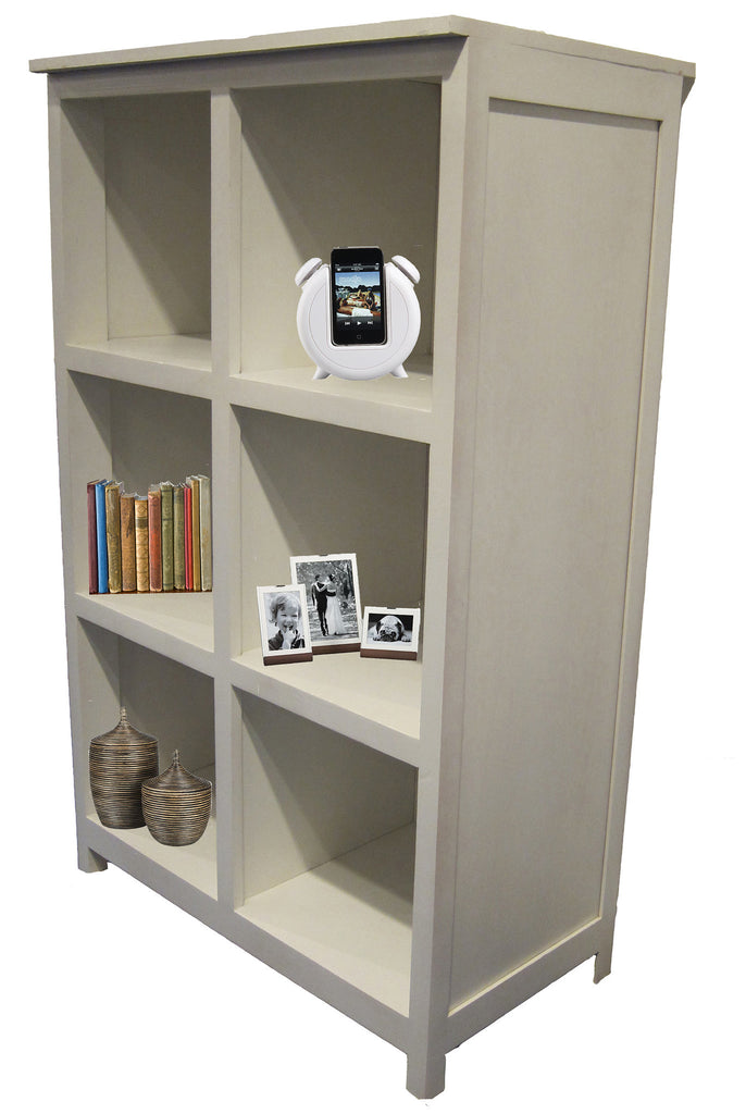 Forest Designs Urban Display Bookcase: 2 x 3: 32W x 52H x 17D