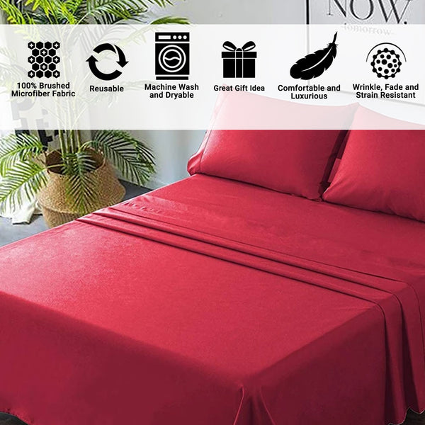 Bed Sheets - Cotton, Flannel and Microfiber
