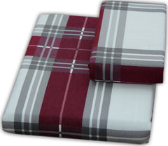 Plaid Bed Sheet Set