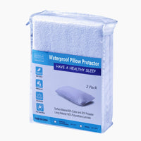Goza Bedding Zippered Waterproof Pillow Protectors