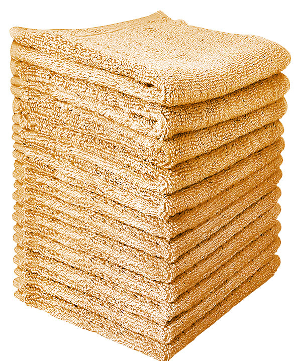 Wholesale Towels Cotton Washcloths in Bulk ( 12 x 12 inches) - Gozatowels