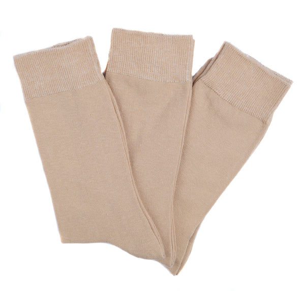 Goza Socks Men's Cotton Blend Dress Socks (3 Pack) - Gozatowels