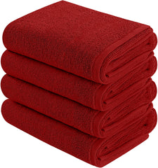 burgundy wholesale towels