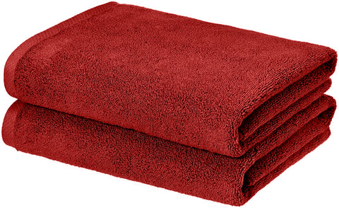 burgundy-towel