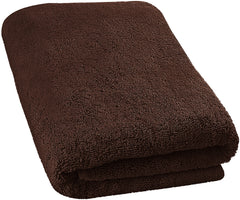 dark brown bath sheet