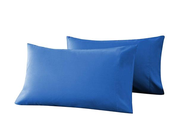 blue pillow cases