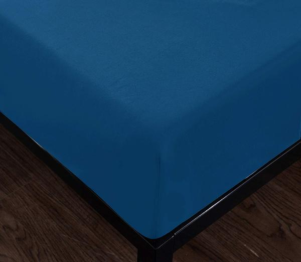 classic blue fitted sheet