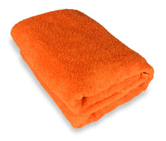 orange bath sheet