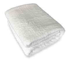 white bath sheet