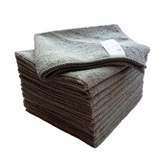 grey microfiber towel