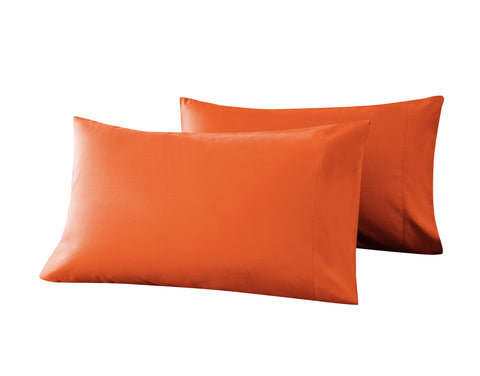 orange pillow cases