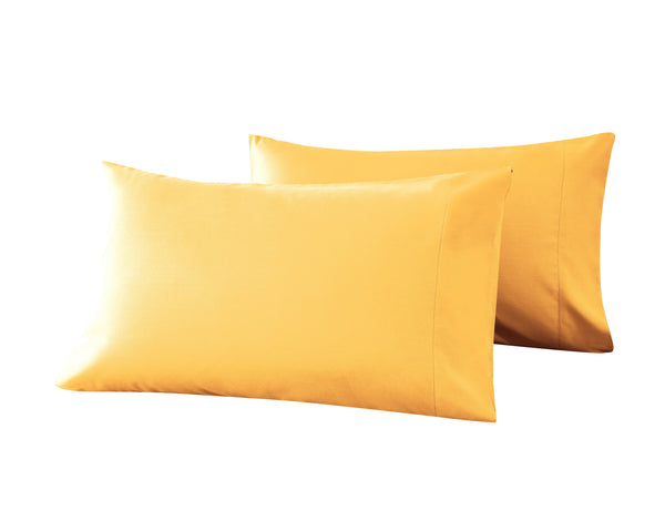 yellow pillow cases
