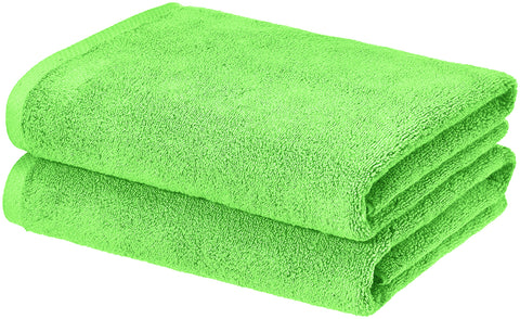 lime-green-towel