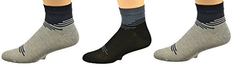 Goza Socks Men's Bamboo No Show Socks with Seamless Toe (3 Pair Pack)