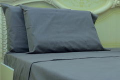 grey flannel pillowcases
