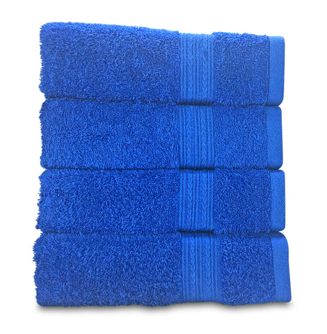 Goza Towels Cotton Large Hand Towel 4 Pack 20 X 35 Inch
