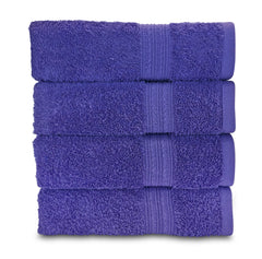 lavender purple hand towel