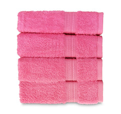light pink hand towel