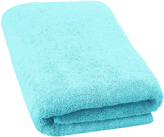 turquiose bath sheets