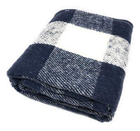 Goza Cotton Rustic Country Throw Blanket - Gozatowels