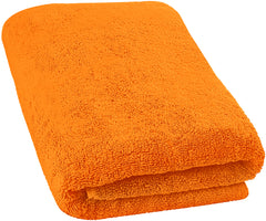 orange bath sheets