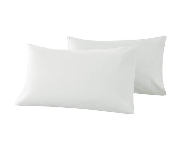beige pillow cases