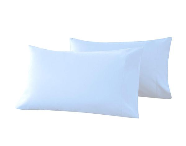 sky blue pillow cases