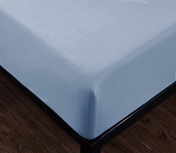 sky blue fitted sheet