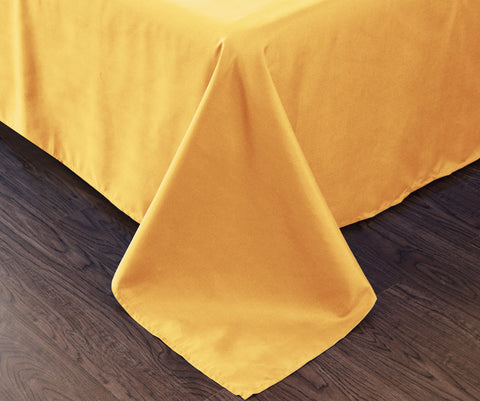 yellow flat sheet