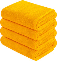Goza Towels Cotton Hand Towels (4- Pack, 16x28 inches) - New Collection - Gozatowels