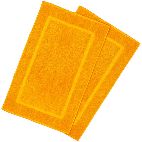 Goza Towels Cotton Bath Mats (2 Pack, 20 x 31 inches) - Gozatowels